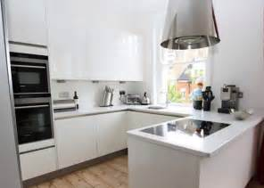 Small U Shaped Kitchen Small U Shaped Kitchen With Peninsula Modern Kitchen By Lwk Kitchens