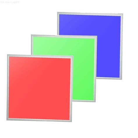 eclairage led multicolore dalle led rvb 60x60 achat vente dalles led 600x600 rvb