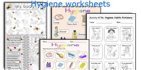 Worksheets On Health And Hygiene by Common Worksheets 187 Free Printable Hygiene Worksheets