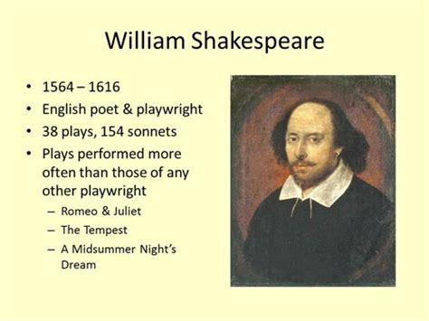 William Shakespeare Quotes About Education Quotesgram Shakespeare Powerpoint Template
