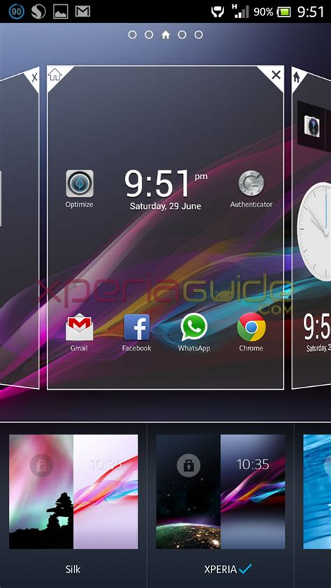 themes for android jelly bean 4 1 2 xperia z ultra zu xperia honami i1 homescreen android 4 2