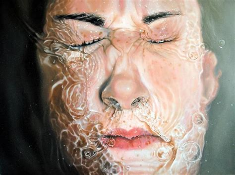 realistic painting linnea strid realistic paintings feather of me