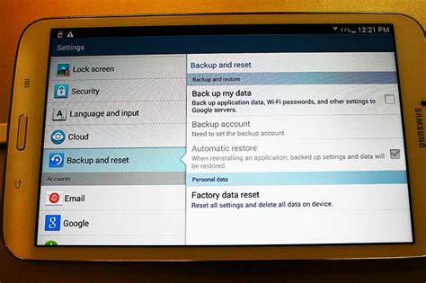 reset samsung tablet to factory settings how to hard reset samsung galaxy tab 4 3 2 p t it