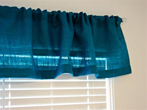 turquoise burlap curtains turquoise burlap valance or choose any color 38 up to