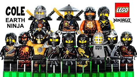 Lego Ninjago Cole Of Earth lego 174 ninjago cole the black of earth 2015