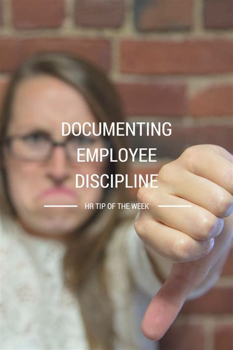 Documenting Employee Discipline 7 tips for documenting employee discipline employers