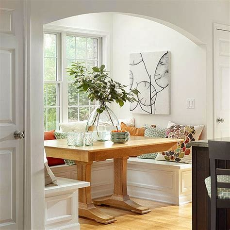 Kitchen Nook Design by Modern Furniture 2014 Comfort Breakfast Nook Decorating Ideas