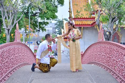 Wedding Blessing Thailand by Bangkok Temple Buddhist Blessing Package May Edison