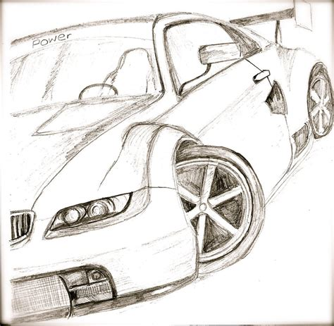 sports car drawing easy sports drawings pictures to pin on pinterest pinsdaddy