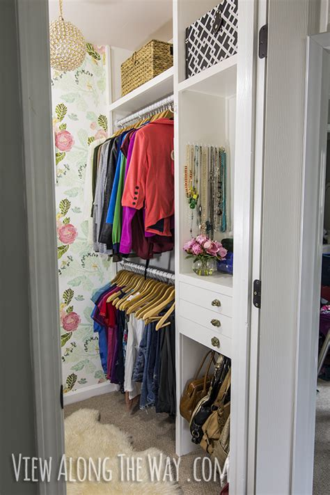 how to make a walk in closet how to build custom closet shelves view along the way