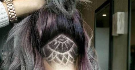 hidden ish undercut i am not my hair pinterest trend alert undercut hair tattoo orrell design blog