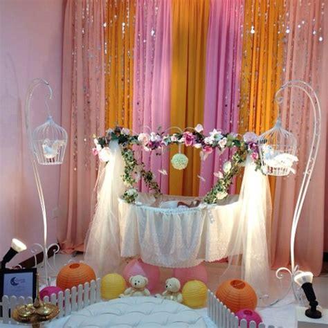 baby shower cradle decor   dream cradle singapore