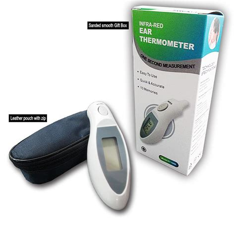 Jual Ear Thermometer Digital digital ear thermometer blacklit lcd et 100b white jakartanotebook