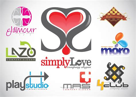 design logo gratis logo design vector footage