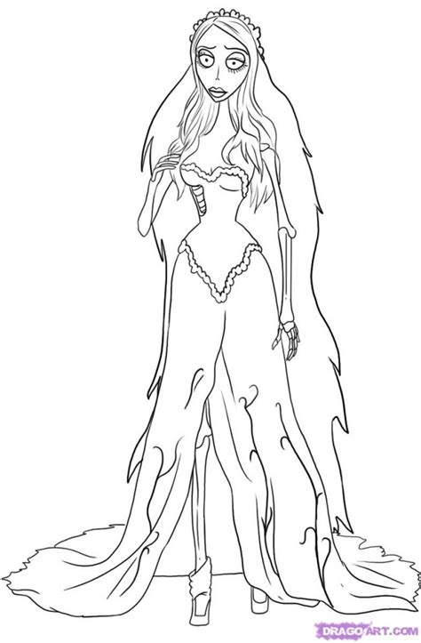 Halloween Pictures To Draw Az Coloring Pages Corpse Coloring For Pages Print