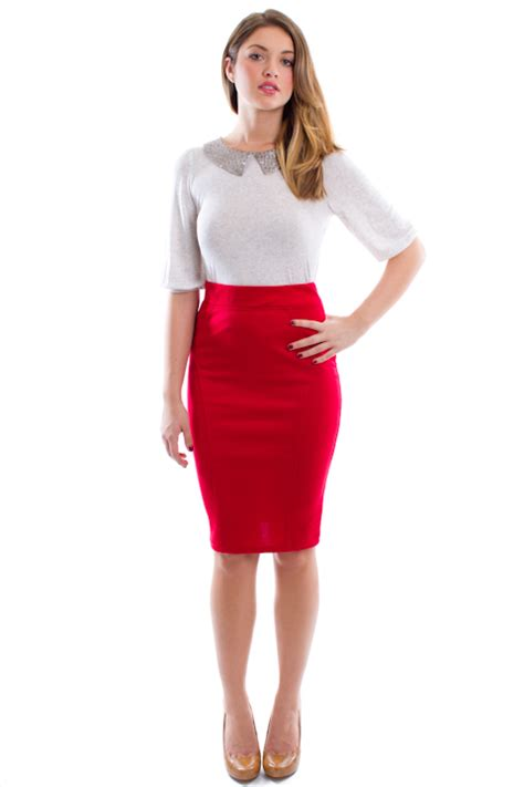 pencil skirt and crop top dress pattern