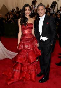 Awards Galas Crowd Pre Globes Weekend by Met Gala Well Played Amal Alamuddin Clooney In Maison