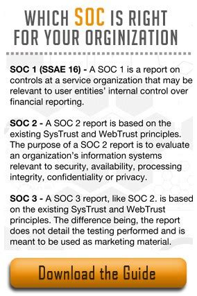 The Ssae 16 Reporting Standard Soc 1 Soc 2 Soc 3 Soc 1 Report Template