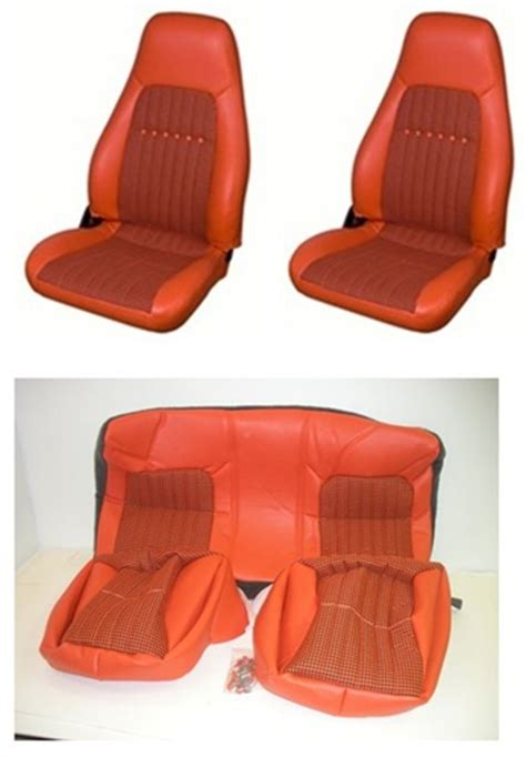 2002 camaro seat covers 1997 2002 camaro seat covers set front and rear orange
