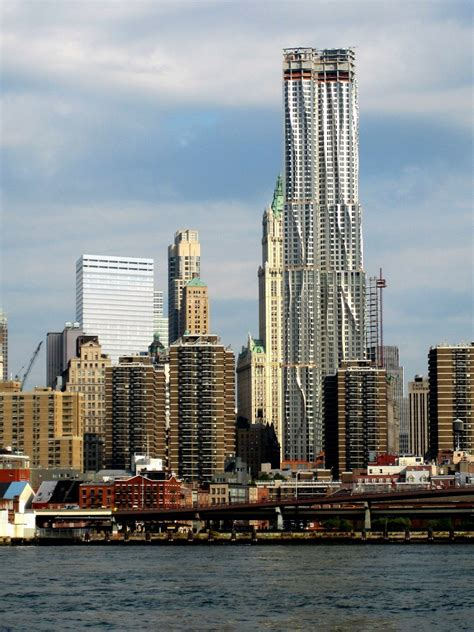 beekman tower gehry s downtown skyscraper buildipedia