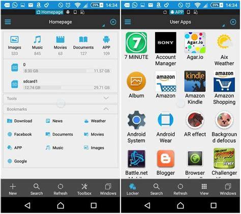 tutorial android file explorer 9 melhores gerenciadores de arquivos para android