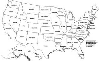 blank map of united states printable blank states map dr