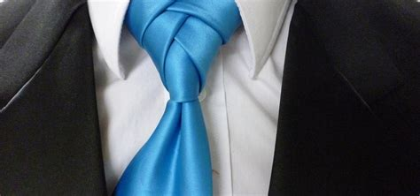 how to an eldredge knot for your necktie animated guide