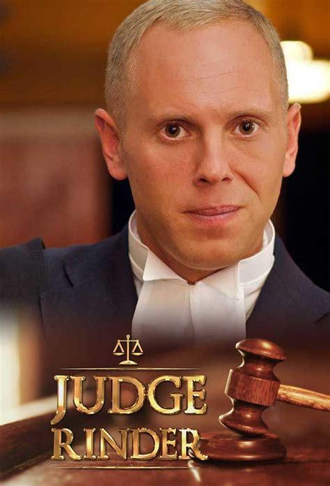 judge rinder judge rinder tvmaze