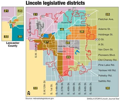 lincoln high school district map democratic caucus federal government journalstar