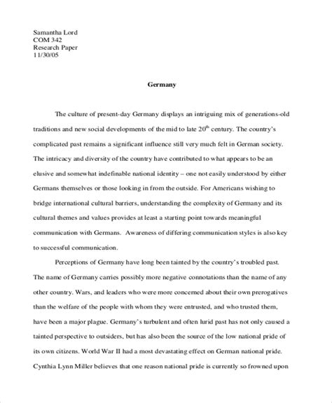 How To Make A Concept Paper - 8 concept essay exles sles