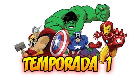 imagenes png vengadores serie los vengadores serie animada audio latino temp 1 y