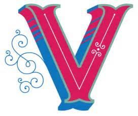 La V V Daily Drop Cap