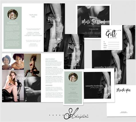 Boudoir Photography Templates Boudoir Marketing Photoshop Etsy Boudoir Photography Marketing Templates