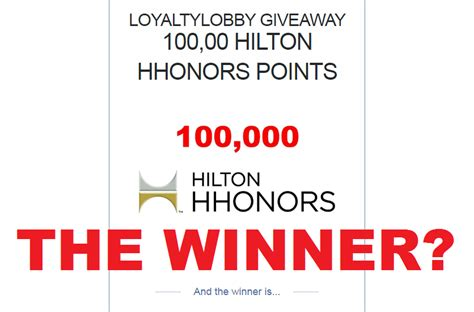 Hhonors Home by The Winner Of The 100 000 Hhonors Giveaway Is