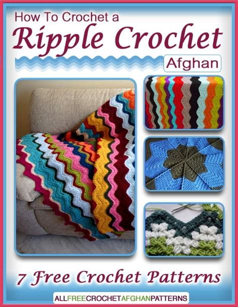 ripple books how to crochet a ripple crochet afghan 7 free crochet
