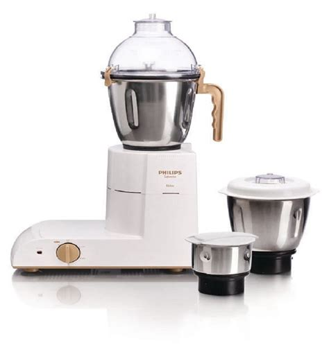 Mixer Juicer Philips philips hl1618 02 3 jars mixer grinder white by philips