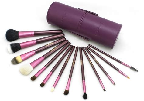 Kuas Make Up Chagne Gold 12 Pcs kuas make up 12 set dengan purple jakartanotebook