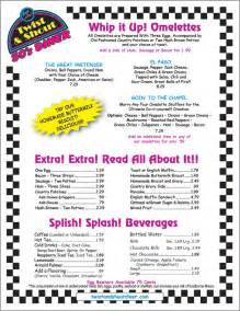 twist and shout 50 s diner our menu breakfast diners