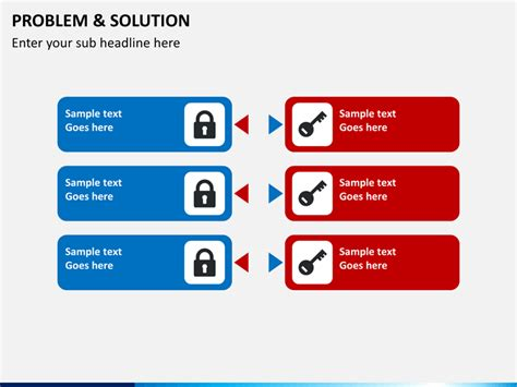 it solution template problem and solution powerpoint template sketchbubble