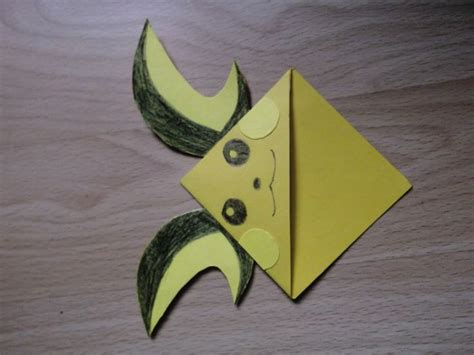 Origami Raichu - 51 best images about diy corner bookmark page markers on