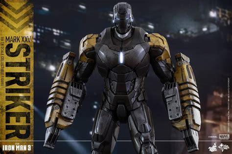 Design Custom Ironman 008 Iron 3 Xxv Striker Armor By Toys The Toyark