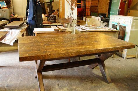 table cuisine sur mesure table de cuisine 100 vieux bois n 1003 le g 233 ant antique