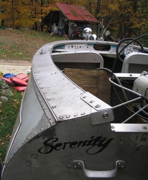 runabout fishing boat conversion 1957 feathercraft rocket runabout