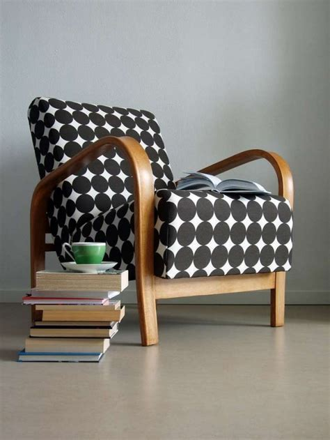 Armchair Pattern Vintage Stoel Woontrendz