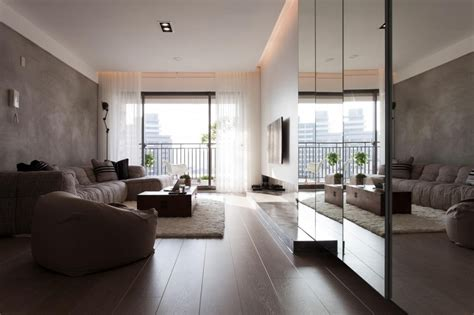 design apartment taiwan contemporary apartment in taiwan by fertility design