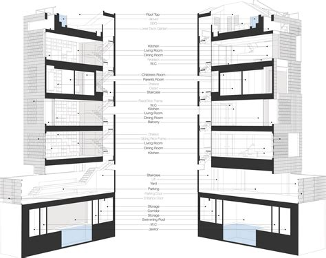 section shift eilkhaneh shift process practice archdaily
