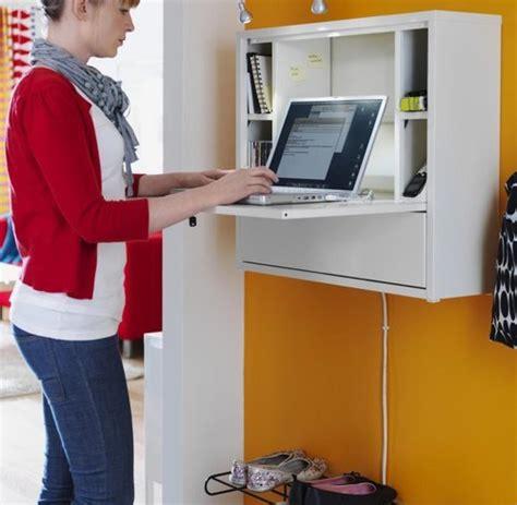 ikea büromöbel schreibtische holz wandverkleidung