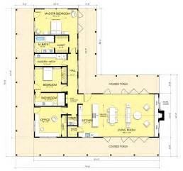 l shaped open floor plan
