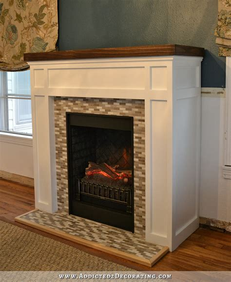 How To A Fireplace by Diy Fireplace Finished
