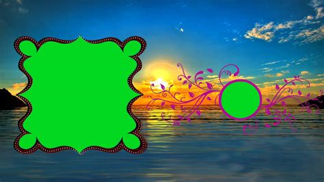 Wedding Animation Background by Wedding Animation Background Cool Green Screen